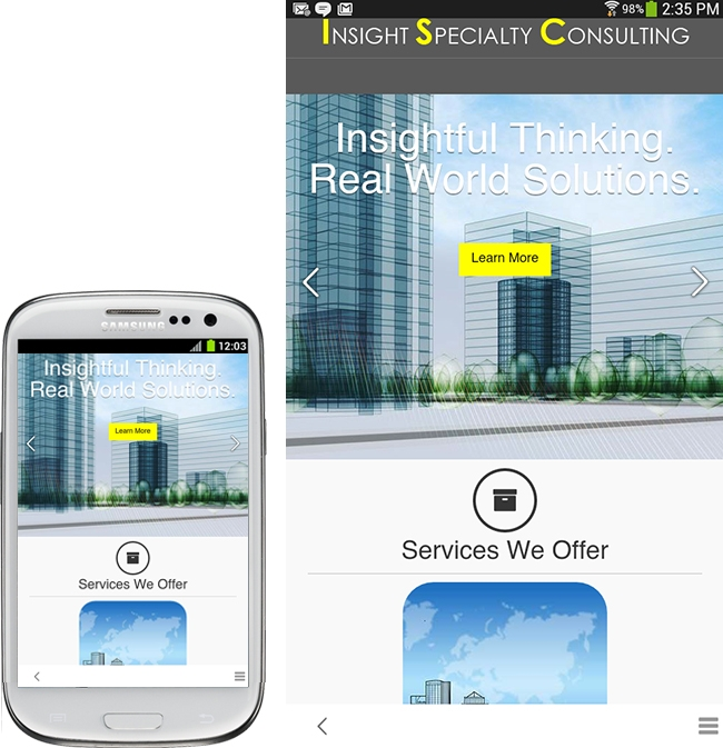Mobile Project Managment Website Design & Development Coquitlam