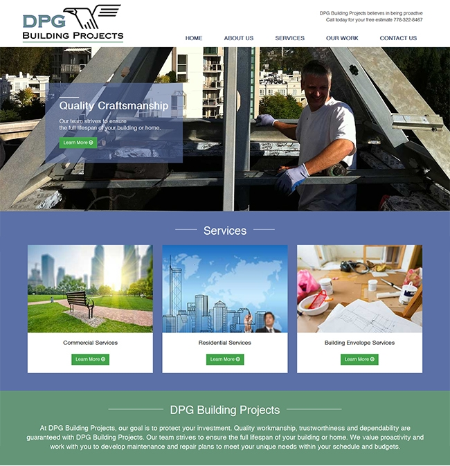 website design coquitlam